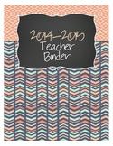 2016-2017 Teacher Binder *UPDATED*