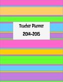 2014-2015 Teacher Planner