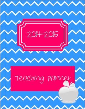 2014-2015 Teaching Planner