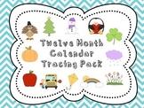 2014-2015 Tracing Calendar Pack