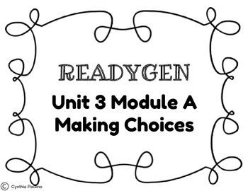 2014-2015 Unit 3 Module A Concept Board
