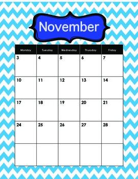 2014-2015 calendars