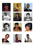 2014 Black History Photo & Name Match Up Game