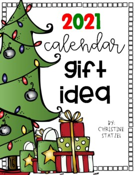 2017 Calendar Christmas Holiday Gift Idea