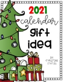 2019 Calendar Christmas Holiday Gift Idea