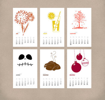 2014 Calendar - Seasonal Printable Calendar