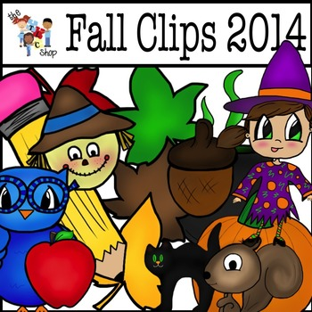 Fall Clipart Big Bundle