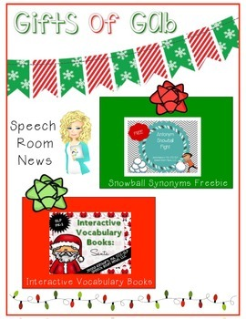 2014 Gifts of Gab FREE Holiday ebook for SLPs