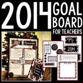 2014 Goal/Resolution Board for Teachers: A New Year, A New YOU