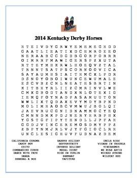 2014 Kentucky Derby Horses