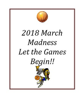2017 March Madness Packet: Let the Games Begin