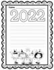 2017 New Year Themed Writing Paper