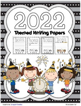 2019 New Year Themed Writing Paper