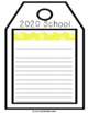 New Year's Goals Writing Activity