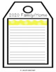 New Year's Goals Writing Activity (Updated Yearly)