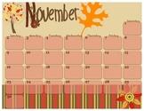 2014 November Calendar