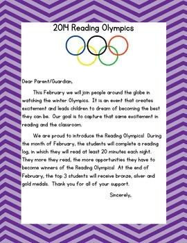 2014 Reading Olympics