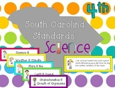 2014 South Carolina Science Standards for Fourth Grade I Can Statements