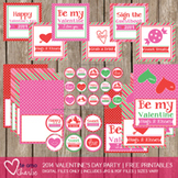 2014 Valentine's Day Party Printable