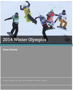 2014 WINTER OLYMPIC GAMES: Grades 4-8+