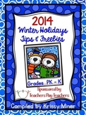 2014 Winter Holiday Tips and Freebies: PreK/K Edition