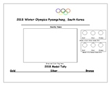 2018 Winter Olympic Country Research Page