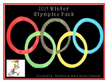 2014 Winter Olympic Pack - Math, Reading, Writing, Stay Fit Challenges