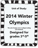 2014 Winter Olympic Unit of Study
