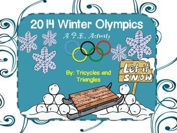 2014 Winter Olympics- A P.E. Activity