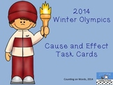 2014 Winter Olympics: Cause and Effect Task Cards