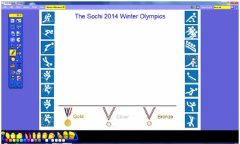 Winter Olympics USA Medal Count Line Plot