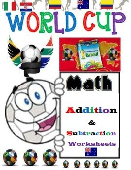 Soccer World Cup Addition and Subtraction