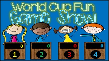 World Cup GAME SHOW- 3rd-8th Gr