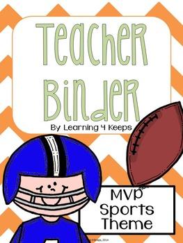 2016-2017 MVP Sports! Teacher Binder