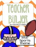 2015-2016 MVP Sports! Teacher Binder