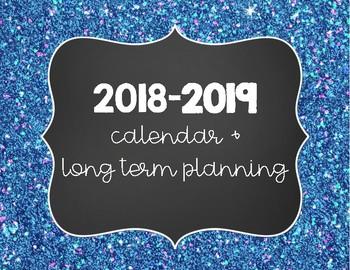 2016-17 Calendar and Long Term Planner