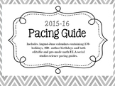 2015-16 Pacing Guide Bundle