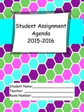 2015-16 Student Agenda in Honeycomb