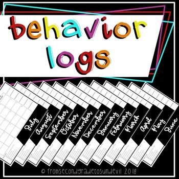 2015-2016 Behavior Logs
