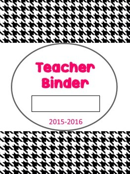 2015-2016 Binder Cover