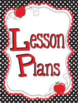 2016-2017 Black and Red Teacher Binder - Everything Minus the Calendars!