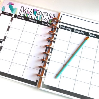 Calendars  {Ready for ANY Year!}