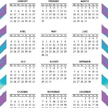 2015-2016 Calendar
