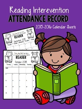 2015-2016 Calendar Attendance Records FREEIBE
