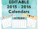 2015-2016 Calendar Bundle