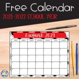 2018-2019 Calendar {Freebie}