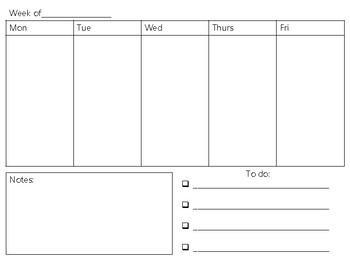 2017-2018 Calendar & Planning Book
