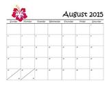 2015-2016 Calendars