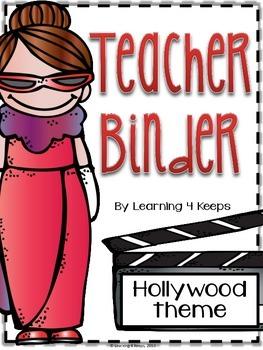 2015-2016 Hollywood Teacher Binder
