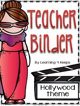 2015-2016 Hollywood Teacher Binder